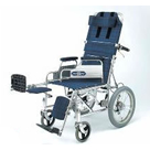 NA-118Bデスク アルミ介助式車椅子 日進医療器