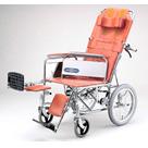 NDH-15 スチール介助式リクライニング車椅子 日進医療器