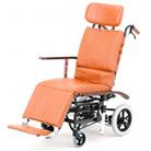 NHR-7 フルリクライニング車椅子 日進医療器