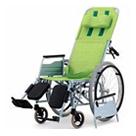 REM-11 リクライニング車椅子自走式 松永製作所