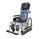 RR42-N-VS フルリクライニング自走用車椅子バリューセット(RR40-N-VSの後継商品) カワムラサイクル