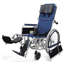 RR52-N-VS フルリクライニング自走用車椅子バリューセット(RR50-N-VSの後継商品) カワムラサイクル