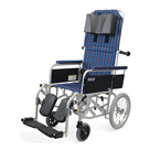 RR53-N フルリクライニング介助用車椅子(RR51-Nの後継商品) カワムラサイクル