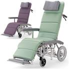 RR60NB フルリクライニング車椅子介助ブレーキ付 カワムラサイクル