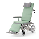 RR70NB フルリクライニング車椅子介助ブレーキ付 カワムラサイクル