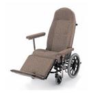くつろぎ16 リクライニング車椅子 カワムラサイクル