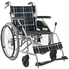 KV22-40SB アルミ製自走式車椅子 カワムラサイクル